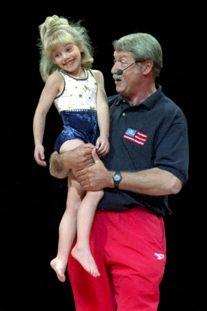 Bela Karolyi and Sam Peszek Little