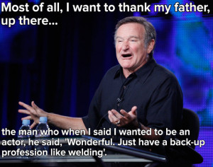 10 inspiring and funny Robin Williams quotes