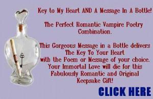 Vampire Love Poem Immortal