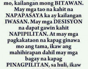 Quotes Sorry Tagalog ~ Tagalog Best sad Love Quotes Archives | Papogi ...