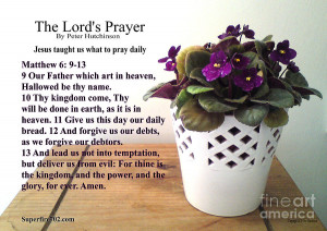 The Lords Prayer Photograph