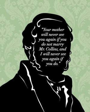 Quotes About Love And Marriage In Pride And Prejudice : Jane Austen Quote, Mr Bennet 8x10, Pride and Prejudice, Mr. Darcy ...