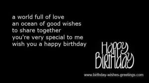 cute love quotes for your boyfriend on his birthday