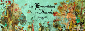 In everything give thanks- inspirational artwork by Janelle Nichol