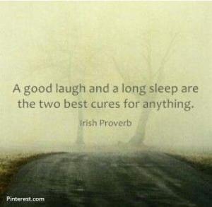 Laugh & A Sleep