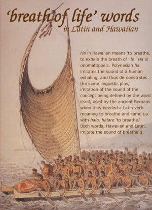 January 18, 1778 CE, rowers of Kalaniʻōpuʻu, King of Hawaii, bring ...