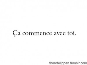 it starts with you rien de rien | Tumblr