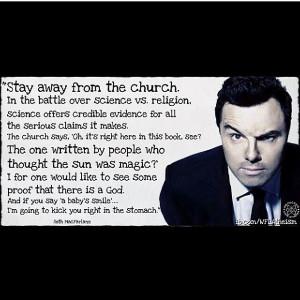 Seth MacFarlane Atheist Quotes