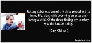 Getting Sober Quotes