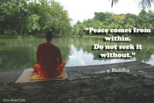 Finding Peace Within Yourself ~ #quotes #inspiration #motivation