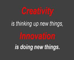 like creativity is based on intrinsic motivation and creative thinking