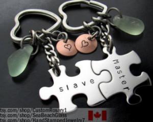 Puzzle Piece Keychain Set Han