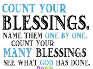 Blessing Quotes