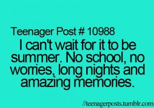 Summer is going to be awesome :)