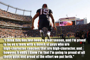 ... six quotes by Tim Tebow. I learned something. Hopefully you will too