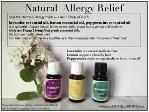 Essential Oils For Seasonal