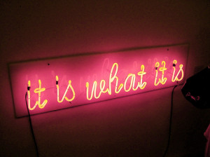 bright, flashing, light, neon, quote, text, truth