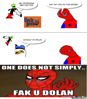 Spider Man Meme Uncle Ben Rice