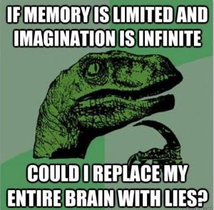 Philosoraptor Memory Imagination