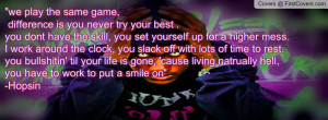 hopsin quote cover