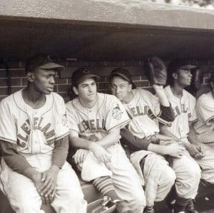 ... Gromek, and Larry Doby, Cleveland Indians90 Feet, Indian Teammates