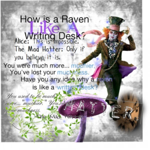 Mad Hatter Quotes - Polyvore