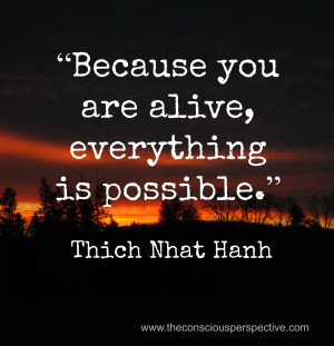 Wisdom Wednesday ~ A Quote from Thich Nhat Hanh