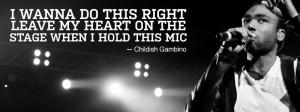 Childish Gambino Quotes From Songs Childish gambino