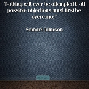Samuel johnson quotes sayings overcome famous quote