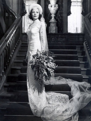 Iconic Wedding Dresses In Film : The Razor's Edge