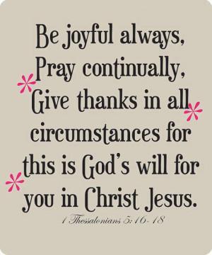 Myspace Graphics > God Quotes > be joyful always Graphic