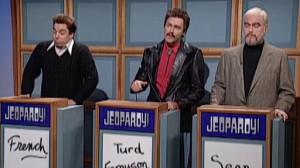 Celebrity Jeopardy: Stewart, Reynolds and Connery (06:39)