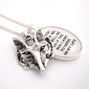The Tame Fox Silver Pendant Necklace The Little Prince. $45.00, via ...
