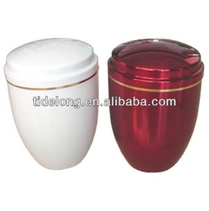 Funeral Ash Container, Metal Urn, Metal Ash Cylinder, Metal Colour Ash ...