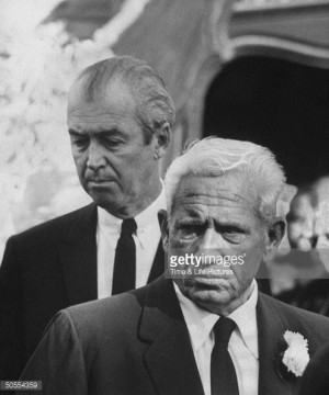... spencer tracy caption james stewart l and spencer tracy at clark gable
