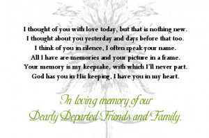 Wedding Memorial Table Poems