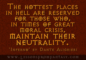 The hottest places in hell...