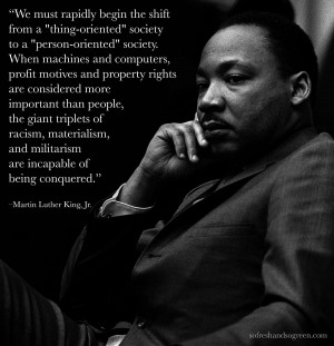 QUOTE: Martin Luther King Jr On Environmentalism