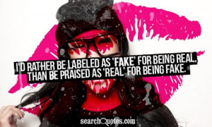 Being Real People Quotes About