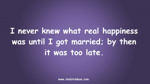 Best collection of Funny Marriage Quotes Pictures