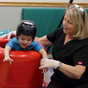 Pediatric physical therapists provide evaluation and treatment to ...