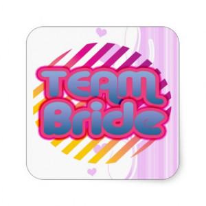 zazzle.co.ukFunny Bachelorette Party Gift Bride Square Sticker ...