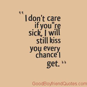 Kiss My Sick Girlfriend