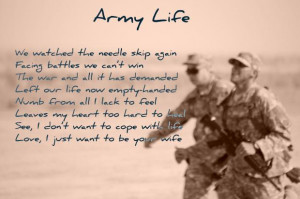 Army Life in Poetry; Army, deployment, Iraq, Life, men, military, poem ...