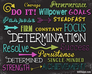 Quotes of determination