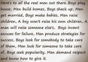 Some boys never grow into men.