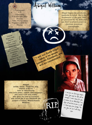 The Crucible: Abigail Williams