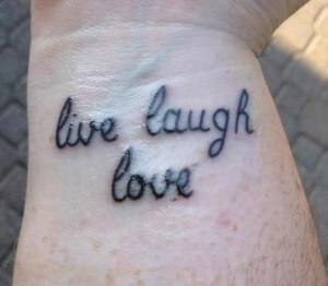 Inspirational Wrist Tattoo Quotes Wrist tattoo
