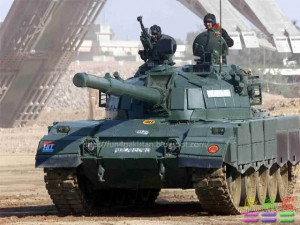 Al-Zarrar MBT in service with the Pakistan Army