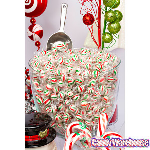Occasions Christmas Candy Sassy Spheres Christmas Striped Hard Candy ...
